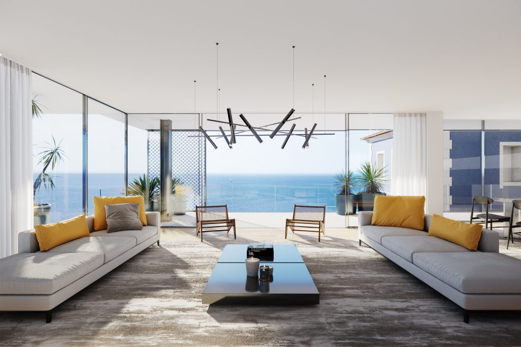 AVENCAS Ocean View Residences - Living Room